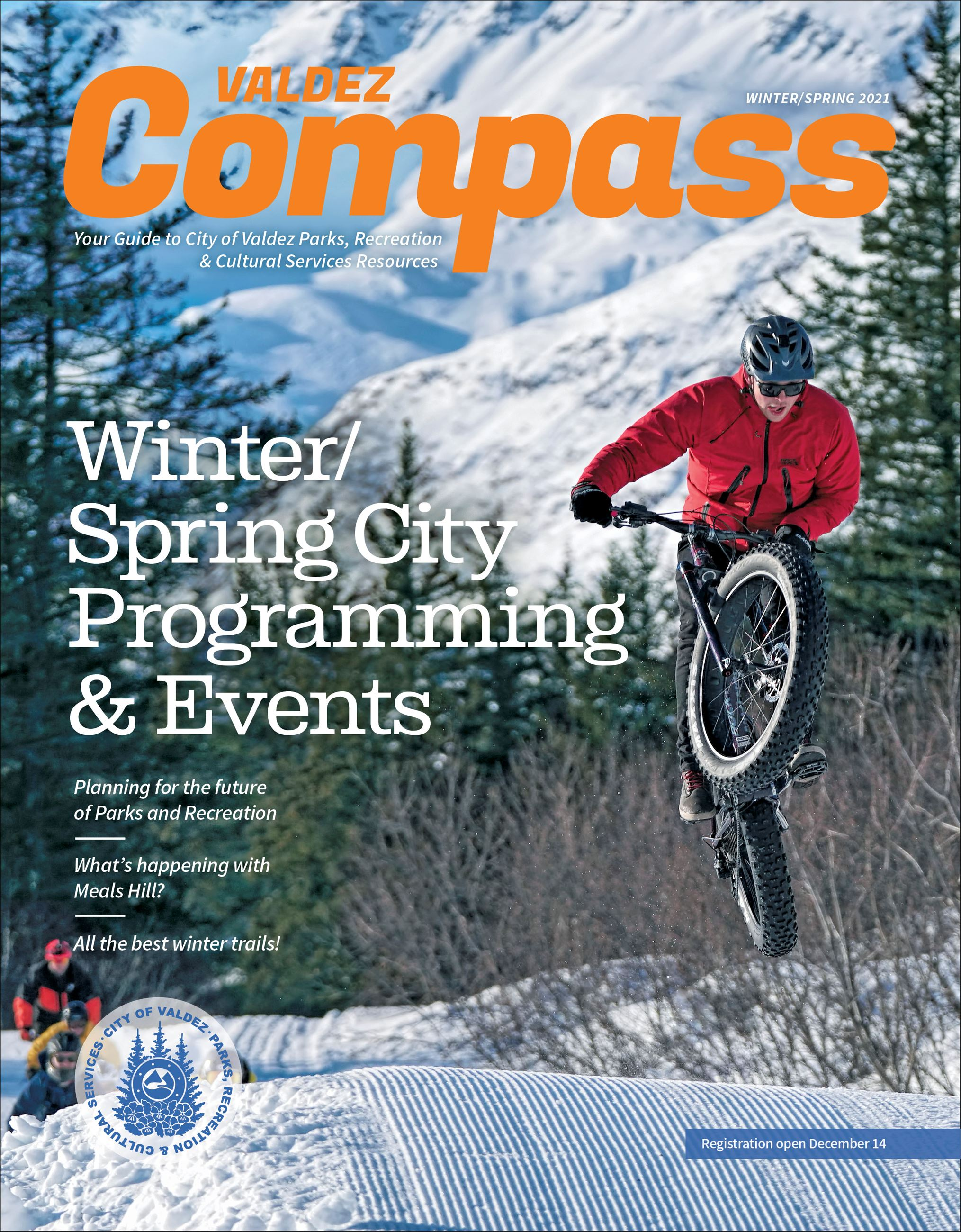 Winter/Spring Activity Guide Cover