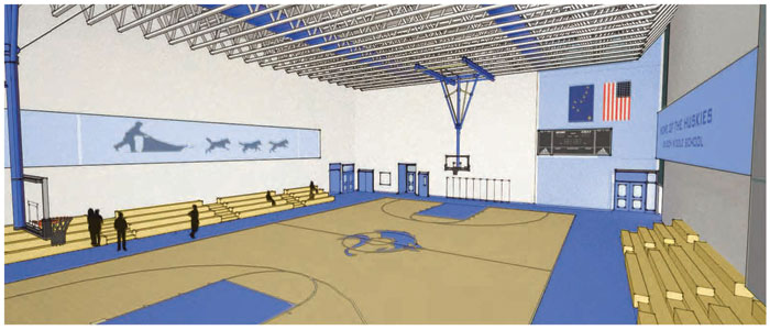 Concept Drawing Gym